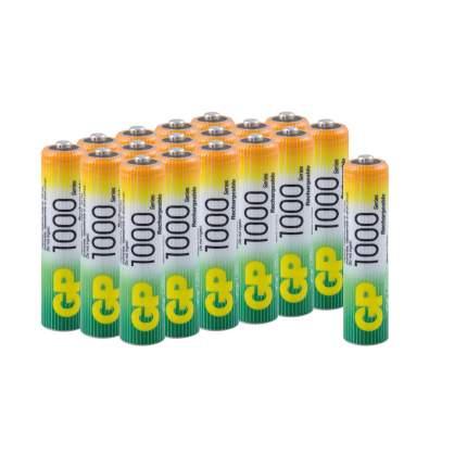 Аккумуляторные батарейки GP ААА (HR03), 18 шт