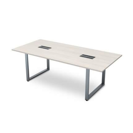 Стол для переговоров Gloss 2200x1000х750 арт.СПГ-О.939