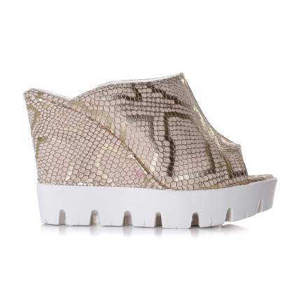 Сабо женские Shoes Market 25-15-609-B47-DORE золотистые 39 RU