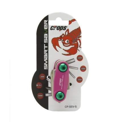 Шестигранный ключ Crops S.saver Ssv-s, розовый