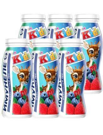 Напиток кисломолочный Имунеле For Kids Волшебный лес 1,5% 100 мл бзмж