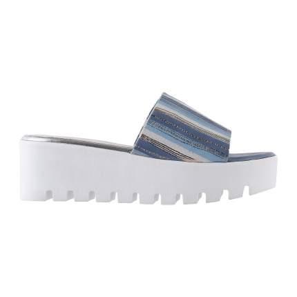 Сабо женские Shoes Market 25-16-813-D9-B171-A5 синие 36 RU