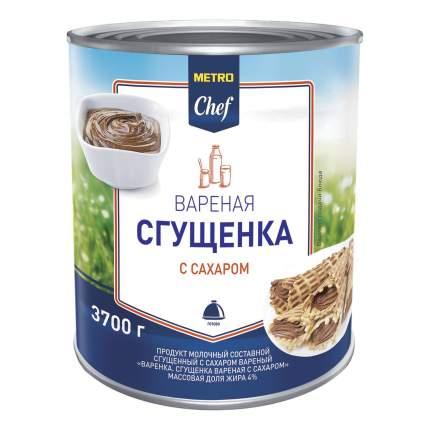 Сгущенное молоко Metro Chef вареное 3,7 кг