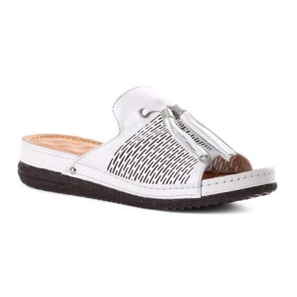 Сабо женские Shoes Market 275-72-114 белые 40 RU