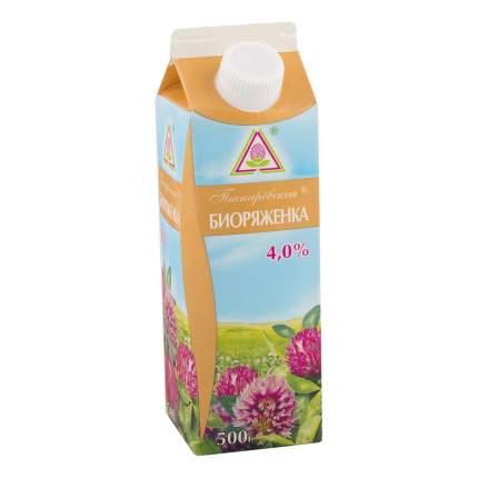 Биоряженка Пискаревский МЗ 4% 0,5 кг пюр-пак бзмж