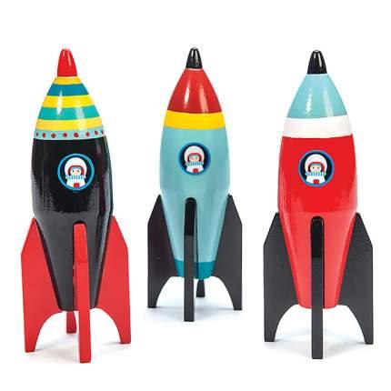 Игрушка Le Toy Van Космическая ракета, в ассортименте