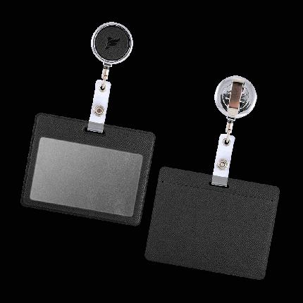 Flexpocket/Держатель для бейджа с металлическим ретрактором