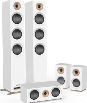 Комплект акустических систем Jamo S 809 HCS White