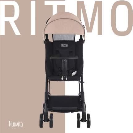 Прогулочная коляска Nuovita Ritmo Beige, Nero Бежевый, черный