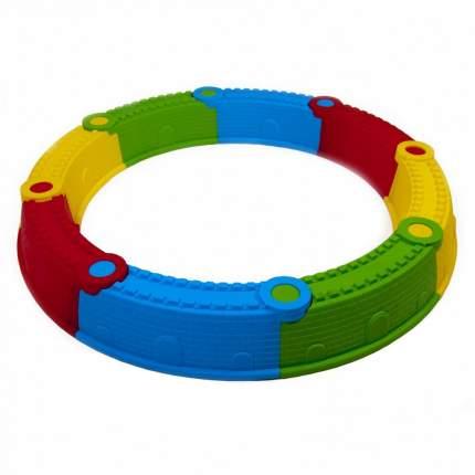 Песочница Kinder Way Стена Замка, разноцветная, 112*112 см, 8 элементов