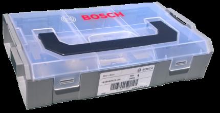 Кейс Bosch L-BOXX mini с прозрачной крышкой