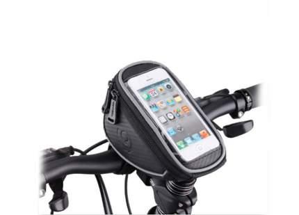 Велосипедная сумка Mingda NTB17296 черная/серая