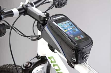 Велосипедная сумка Mingda NTB17298 серая/черная