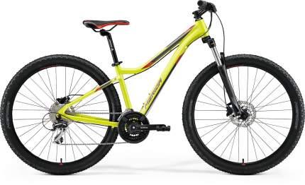 Велосипед Merida Matts 7.20 2021 Lime/Red (Дюйм:18,5)