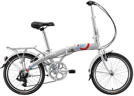 Велосипед Welt Subway 20 2021 Silver (Дюйм:11,5)