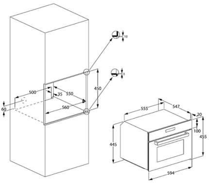 Встраиваемый электрический духовой шкаф Beko BCE18306X