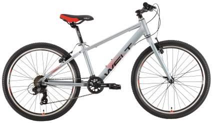 "Велосипед Welt Peak 24 R 2021 13"" metal grey"