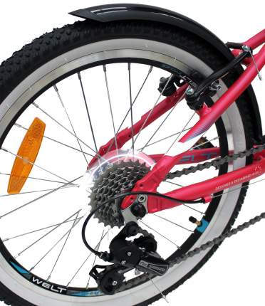 Велосипед Welt Edelweiss 20 R 2021 Pink (Дюйм:11)