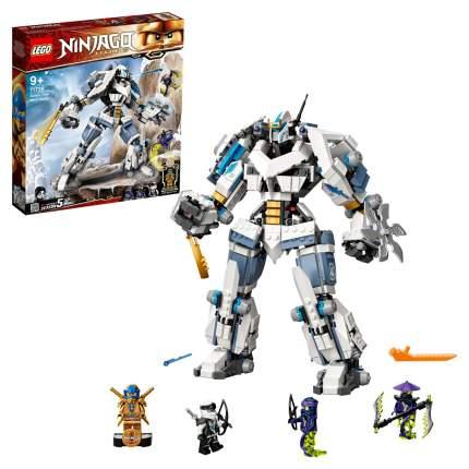 Конструктор LEGO NINJAGO 71738 Битва с роботом Зейна