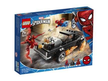 Конструктор LEGO Marvel Super Heroes 76173 Человек-Паук и Призрачный Гонщик против Карнажа