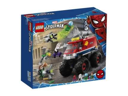 Конструктор LEGO Marvel Super Heroes 76174 Монстр-трак Человека-Паука против Мистерио