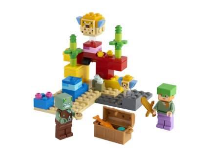 Конструктор LEGO Minecraft 21164 Коралловый риф