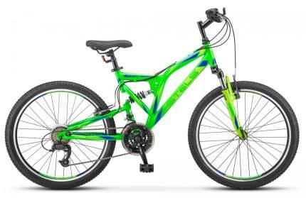 "Велосипед Stels Mustang V 24"" (V020) 2021 16"" зеленый"