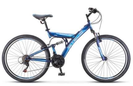 """Велосипед Stels Focus V 26 18-sp (V030) 2018 18"""" темно-синий/синий"""