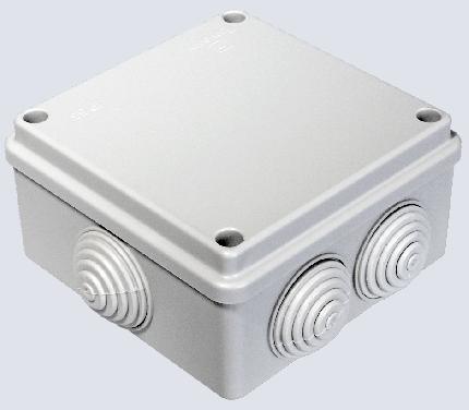 Монтажная коробка безгалогенная (HF) Промрукав 100х100х50