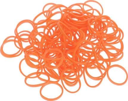 Набор из резинок Rubber Band одноцветные (600 шт.), К-103-8, Темно-оранжевый