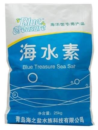 Морская соль BLUE TREASURE Reef Sea Salt 25 кг