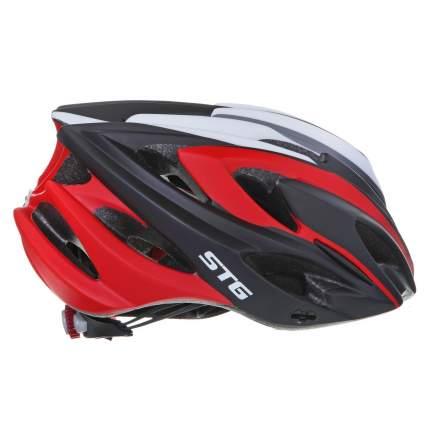 Защитный шлем STG MV17-1, black/red, L