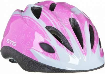 Защитный шлем STG HB6-5-D, pink/white, S