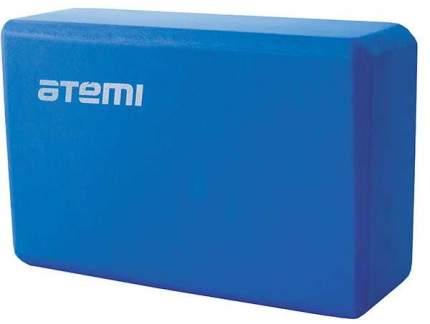 Блок для йоги Atemi AYB01BE этиленвинилацетат ш.:225мм в.:145мм т.:75мм голубой
