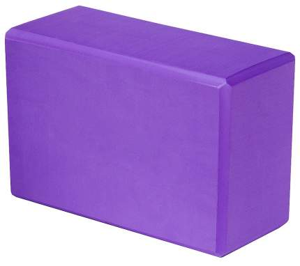 Блок для йоги Atemi AYB02PL этиленвинилацетат ш.:228мм в.:152мм т.:76мм сиреневый