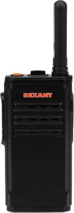 Рация Rexant R-1 16кан. до 9км аккум. черный/красный (46-0871)