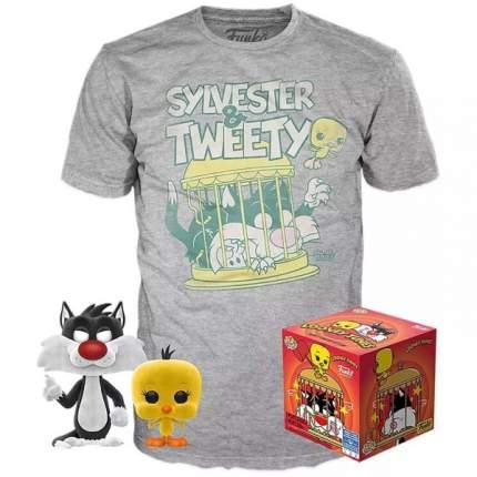 Футболка Funko POP and Tee: Looney Tunes: Sylvester&Tweety (L)