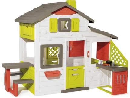 Детский игровой домик Smoby Friends House с кухней и звонком 810202
