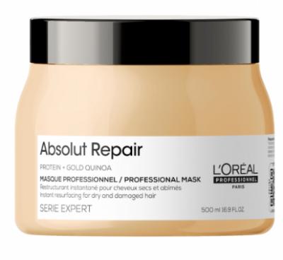Маска для волос L'Oreal Professionnel Absolut Repair Голд 500 мл