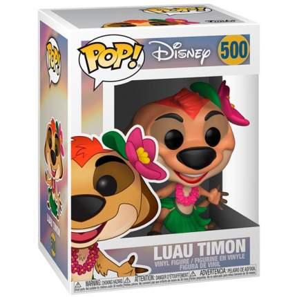 Коллекционная фигурка  Funko POP!Vinyl:Disney:Король лев(Lion King):Luau Timon
