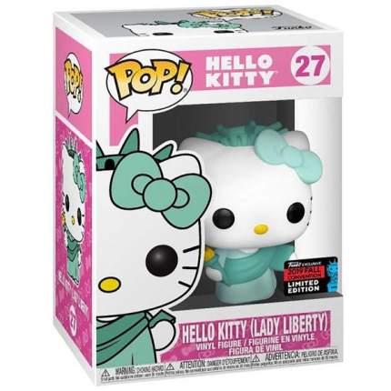 Коллекционная фигурка Funko NYCC Exc: Sanrio: Hello Kitty: Lady Liberty