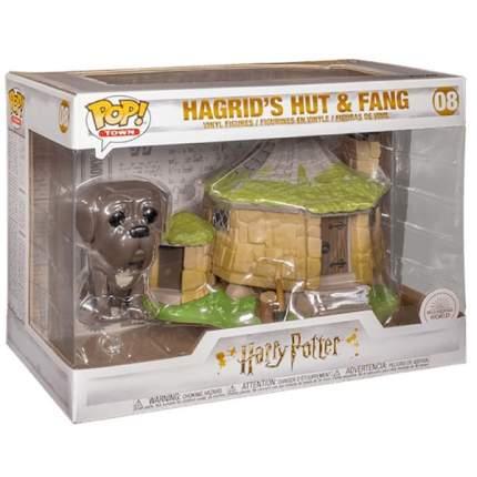 Коллекционная фигурка Funko POP! Harry Potter: Hagrids Hut w/ Fang