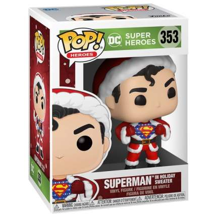 Коллекционная фигурка Funko POP! Holiday: Superman w/Sweater
