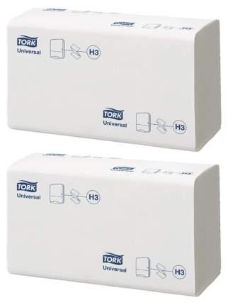 ПРОМО НАБОР №4 H3 Tork Universal полотенца сложение ZZ, 250 лист., 23х23см, 1 сл., белые