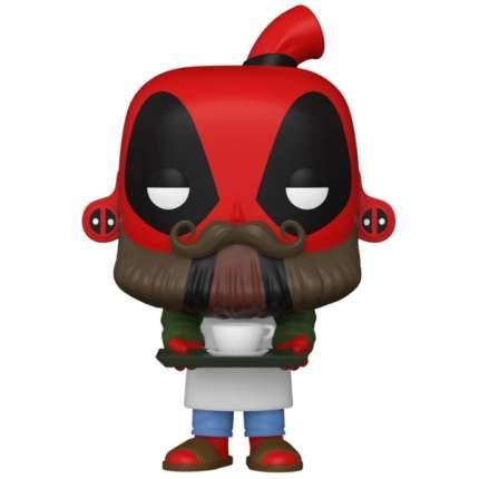 Коллекционная фигурка Funko POP! Deadpool 30th: Coffee Barista
