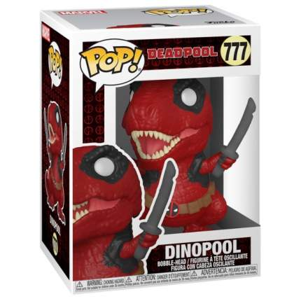 Коллекционная фигурка Funko POP! Deadpool 30th: Dinopool
