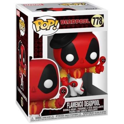Коллекционная фигурка Funko POP! Deadpool 30th: Flamenco Deadpool