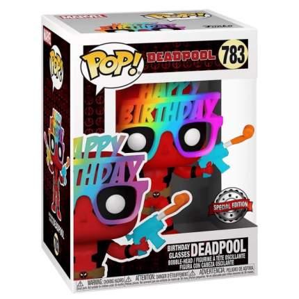 Коллекционная фигурка Funko POP! Deadpool 30th Birthday Glasses Deadpool