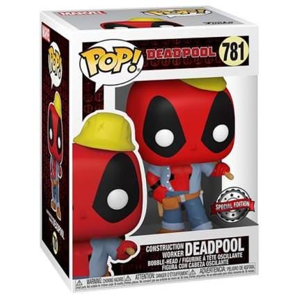Коллекционная фигурка Funko POP! Deadpool 30th: Construction Worker