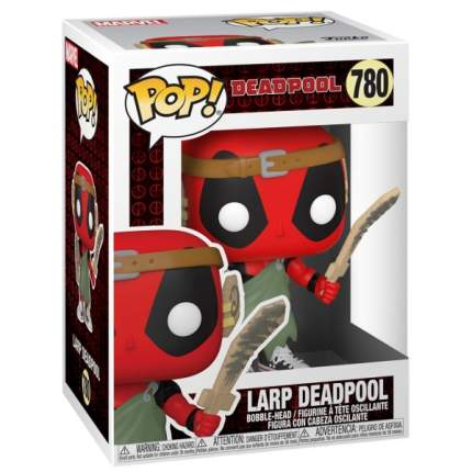 Коллекционная фигурка Funko POP! Deadpool 30th: LARP Deadpool